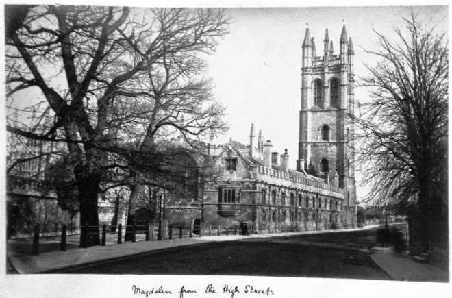 Magdalen College from the High Street