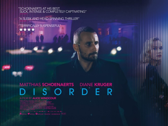 Poster for Disorder (British Release)