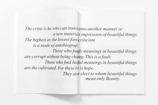The Picture of Dorian Gray (Preface)