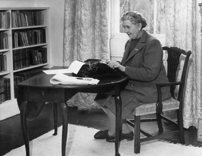 Agatha Christie at Work