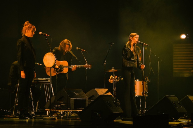 Lykke Li Performing at the Let's Protect the Park Nature Benefit Concert