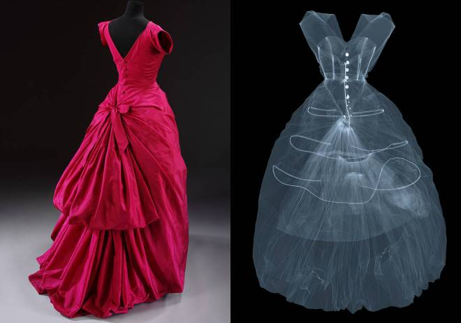 Silk Taffeta Evening Dress