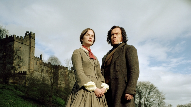 Ruth Wilson as Jane Eyre and Toby Stephens as Mr. Rochester