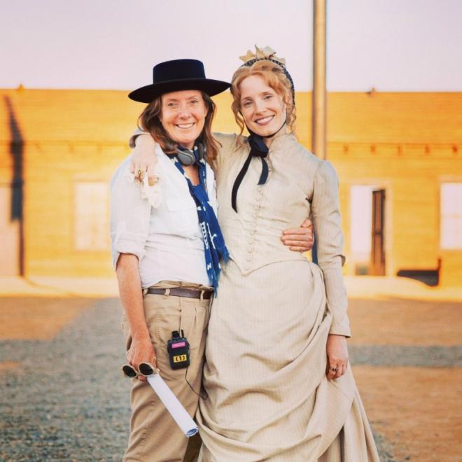 Susanna White and Jessica Chastain