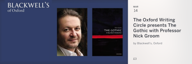 The Gothic with Professor Nick Groom
