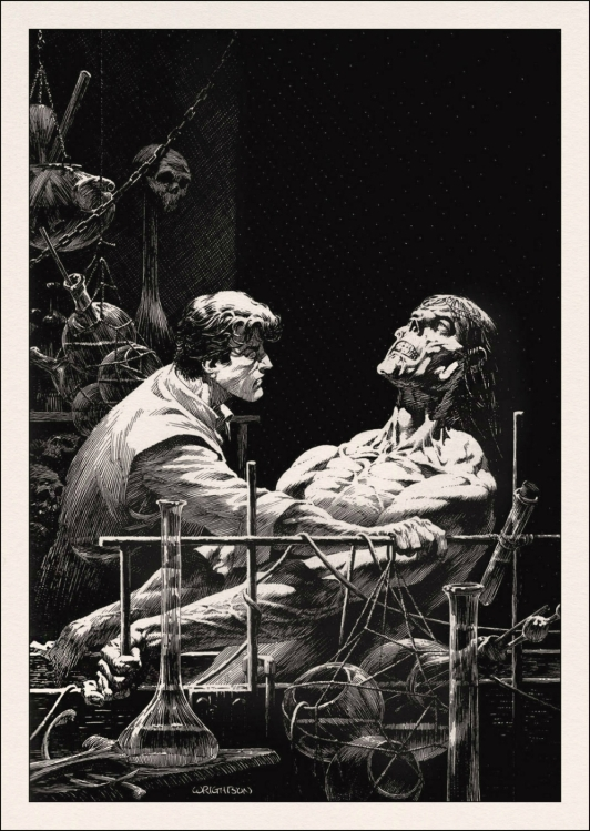 Frankenstein and the Creature (from Frankenstein)