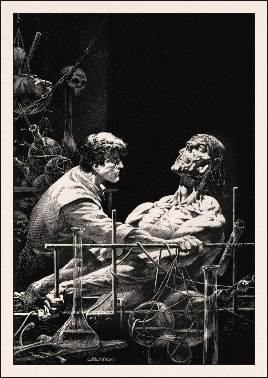 Frankenstein and the Creature (from Frankenstein)