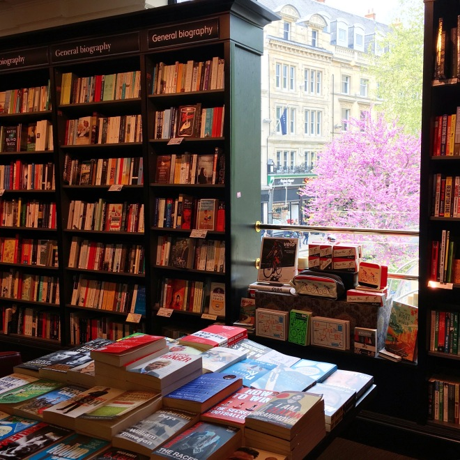 Spring, as Seen from Waterstones