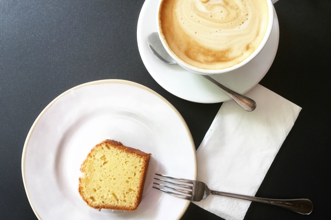 Lemon Drizzle Cake and a Cappuccino, Please