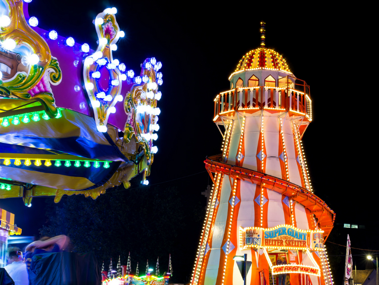 St Giles' Fair after Dark